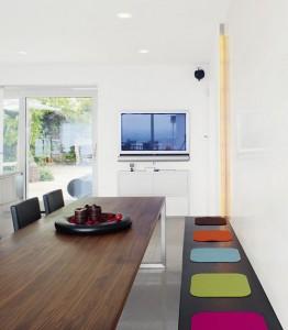 Einbauten: Bänke, Schränke usw. filigran Design