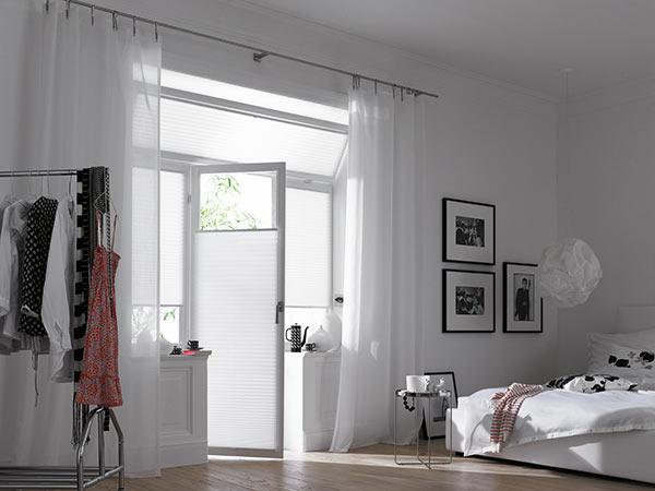 faltstores und plissees bei filigran design heidelberg. Black Bedroom Furniture Sets. Home Design Ideas